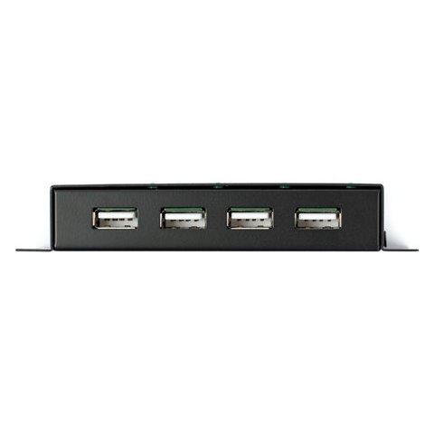 USB 2.0 хаб на 4 порта в металлическом корпусе Превью 1