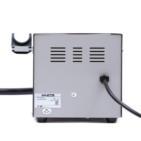 Термоповітряна паяльна станція QUICK 706W+ ESD Прев'ю 4