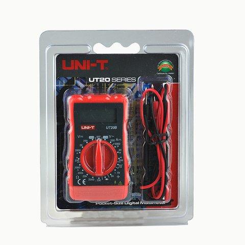 Pocket Digital Multimeter UNI-T UT20B Preview 4
